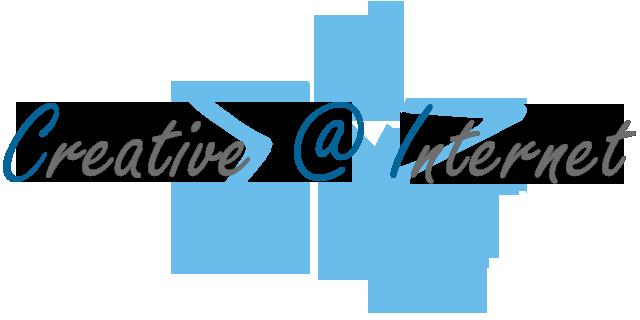 Creative @ Internet logo sell WordPress websites design packages